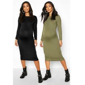 Maternity Bodycon - 2 pack
